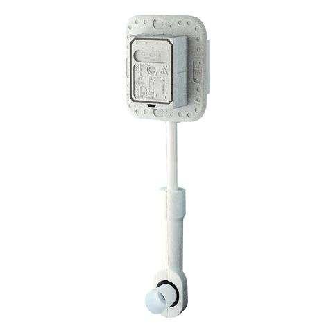 GROHE WC-Druckspüler 37157 Wandeinbau DN20 für Niederdruck mit Vorabsperrung