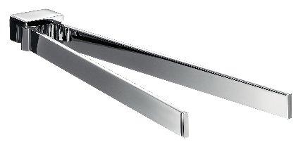 emco loft handtuchhalter zweiarmig schwenkbar 410mm emco steel 055001641 g nstig schnell. Black Bedroom Furniture Sets. Home Design Ideas