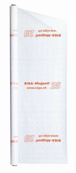 SIGA- Majpell ® 25 diffusionsfähige Dampfbremse 3m x 50m, 150m²