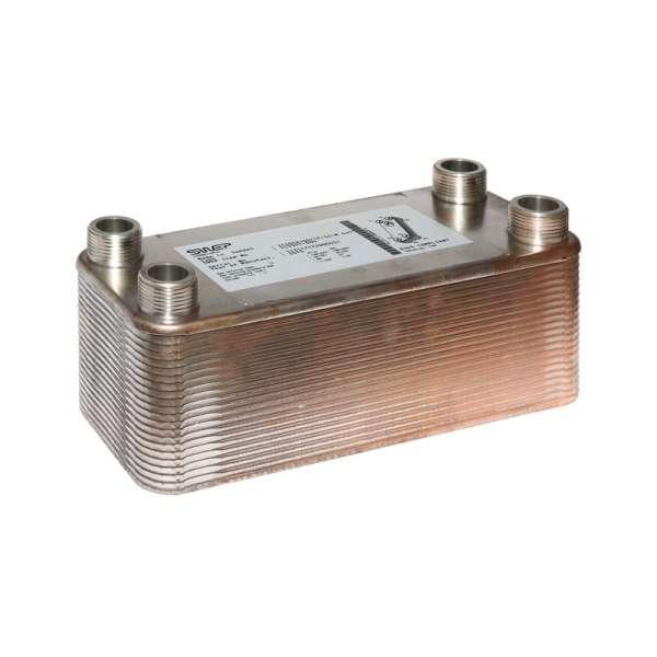 SWEP Plattenwärmetauscher 4x1\'\' AG Wärmetauscher IC10THx40 günstig ...