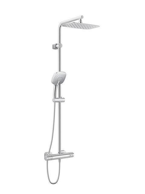 ideal standard duschsystem idealrain cube chrom a6188aa g nstig schnell sanundo onlineshop. Black Bedroom Furniture Sets. Home Design Ideas
