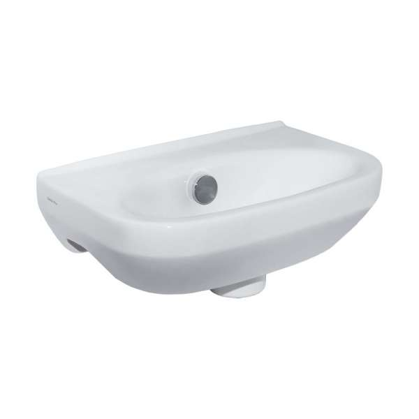 *** Sonderangebot *** Diana Plus2 Handwaschbecken 380 x 250 mm Weiß-DIANA Clean
