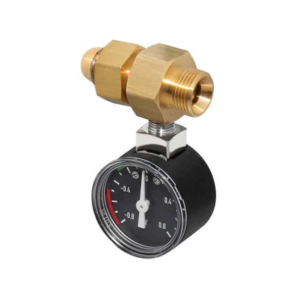 Oventrop Unterdruckmanometer mit Anschlussst/ück R 3//8 x Rp 3//8