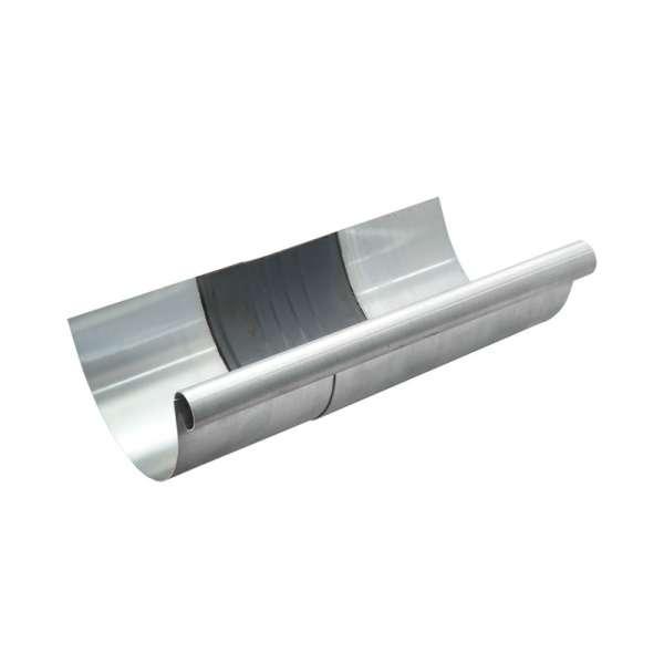 Dachrinne titanzink  TITANZINK Rinnen-Dilatation halbrund Dehnungsfuge 7-teilig 280 mm ...