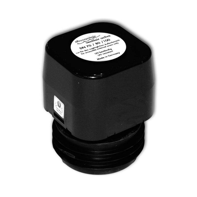abusanitair ventilair active bel fter und entl fter mit aktivkohle filtervlies dn 70 80 100. Black Bedroom Furniture Sets. Home Design Ideas