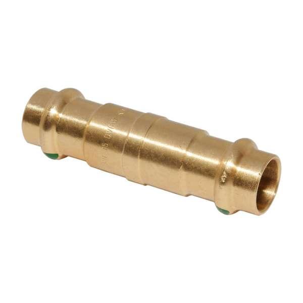 Rotguss Modell 2226 Viega Sanpress Bogen 45° I-I 22 mm SC-Contur