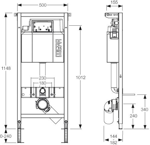 mepa varivit wc modul 514101 vorwandelement mepaorbit platte 2 mengen 421800 ebay. Black Bedroom Furniture Sets. Home Design Ideas